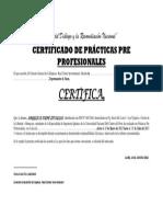 Certificado Angy Practicas