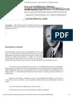 Teoriaseinstitucioneseducativas - 2. El Experimentalismo y El Cientificismo (Dewey)