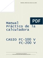 Manual Calculadora Casio Financiera
