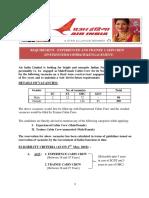 Air India Cabin Crew Recruitment 2018