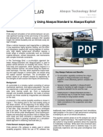 Auto Full Vehicle Durability Using Abaqus Standard 11