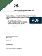 Acta de Entrega Tanque 115m3 Fabricado en Acero Carbono API 650