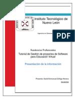1 Presentacion de La Informacion