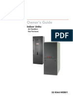 Trane Indoor Units Manual