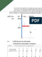 Ejemplo2 de Diseño en Compresion Axial