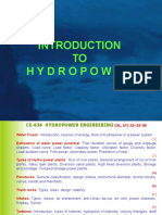 Hydropower Introduction