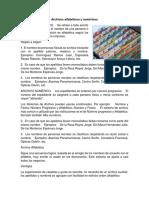 Archivos Alfabéticos y Numéricos