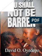 You Shall Not Be Barren - David Oyedepo