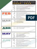 Calendario Academico Pg 2018