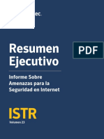 ISTR Resumen Ejecutivo - Symantec reporte