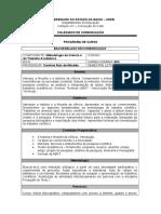 Plano de Disciplina - Metodologia Da Ciência e Do Trabalho Acadêmico 2015.1 (2)