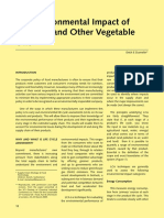 29.2009The Environmental Impact of Palm Oil and Other Vegetable Oils