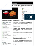 Hoja de impresión de Cake de chocolate con leche y peras a la vainilla.pdf