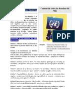 Convención Sobre Los Derechos Del Niño 1