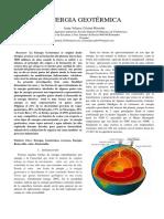 Energia Geotermica Paper