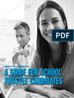 A Guide for School Trustee Candidates En