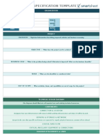 IC IT Technical Specification Template