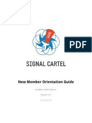 Signal Cartel - New Member Orientation Guide | Share