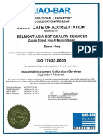 ISO 17025-Belmont Asia NDT Quality Services-(2017-2018)