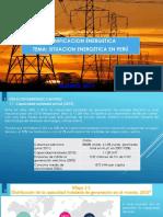 Situacion Energetica en Peru