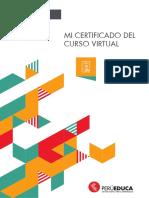 Certificado Curso Virtual