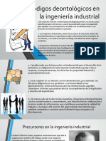 Codigos Deontológicos en La Ingeniería Industrial