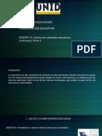 SESIÓN 12. Diseño de Materiales Educativos Multimedia. Parte II