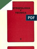 Antropología y técnica. v3