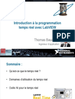 Introduction a La Programmation Temps Reel Avec Labview 4.1