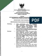 PERMENPAN No 15 Tahun 2009 Tentang Jabfung Pengawas Penyelenggaraan Urusan Pemerintahan