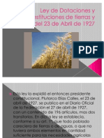 Ley de Dotaciones y Restituciones de Tierras y