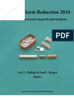 Tobacco Harm Reduction 2010