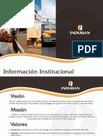 Información Institucional Induban