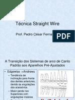 Técnica Straight Wire - Nivelamento