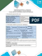 Fase 8 - Trabajo Colaborativo Sobre Parámetros Operacionales