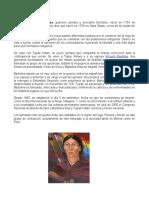 Biografia Bartolina Sisa