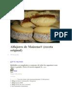 Alfajores de Maicena