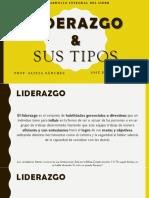 Definición de Liderazgo y Sus Tipos (J. Alfonzo - J. Castro).pdf