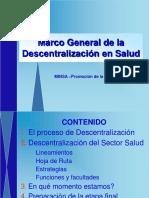 Descentralizacion General