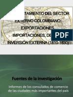 Comportamiento Del Sector Externo Colombiano