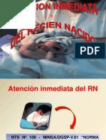 ATENCION INMEDIATA DEL RN.ppt