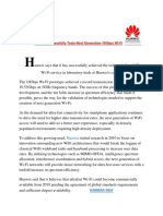 Huawei Successfully Tests Next Generation 10Gbps Wi