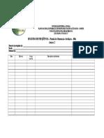 Estagio IV - Registro de Frequencia - Prof. Estágio