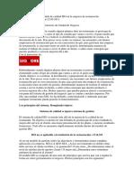 La Implantación Del Modelo de Calidad ISO en La Empresa de Restauración
