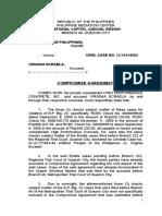 Compromise Agreement Highper vs. Ecraela