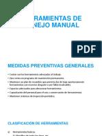 Herramientas de Manejo Manual