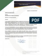 Modelo Carta Licitacion