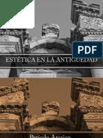 1 Estética en La Antigüedad