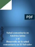 Salud Comunitaria América Latina y El Salvador