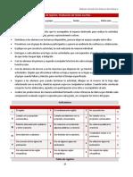 Producción de Textos-Ficha de Registro y Rúbrica Secundaria